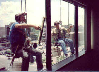 High Rise Window Cleaning Experience!
